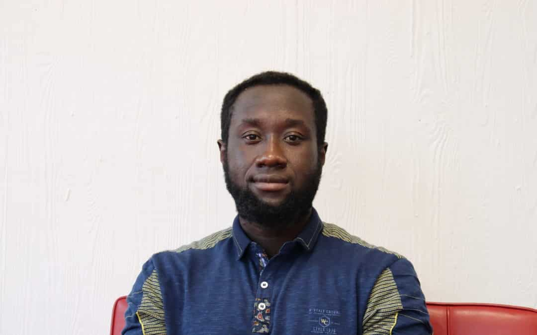 "BeCode junior Dwayne: ""It's never too late to start a career in web development. All you need to do is sign up at BeCode. You'll not regret it, I've had an amazing experience."""